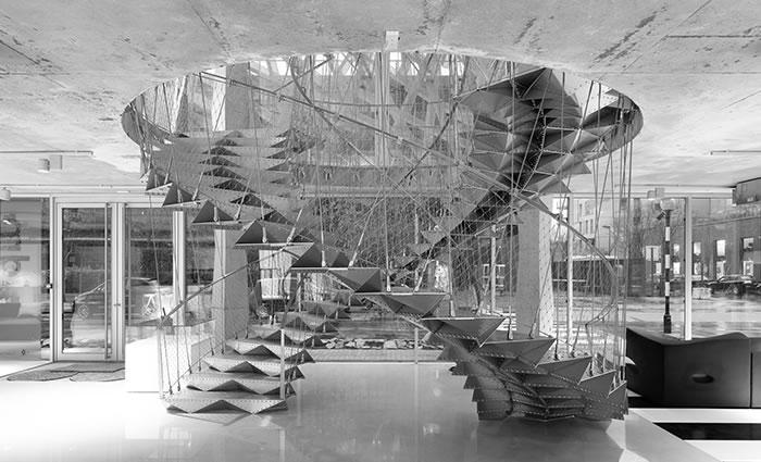 IDM Library - Escalier Manny Groupe Coupechoux Bureau