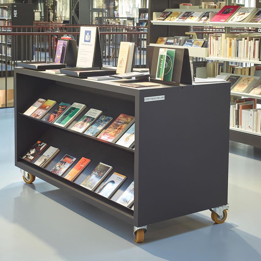 IDM Library - Mediathèque Les Capucins - Cube long