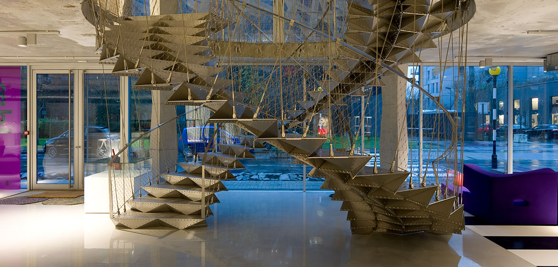 IDM Library - Escalier immeuble Manny IDM Nantes