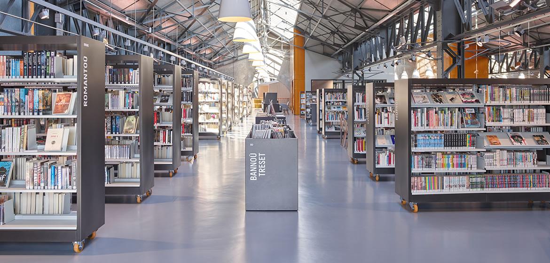 IDM Library - Mediathèque François Mitterrand