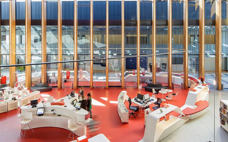 IDM Library - Médiathèque Saint Malo La grande passerelle