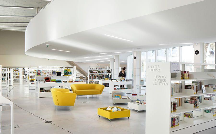 IDM Library - Mediathèque La Source