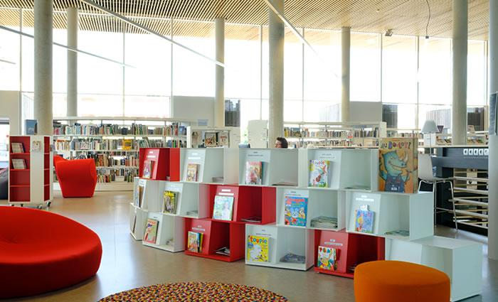 IDM Library - Mediathèque Le mix Mourens - Wallbox