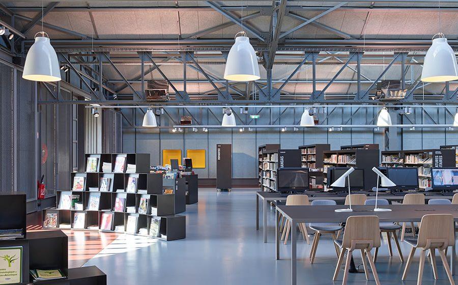 IDM Library - Mediathèque Les Capucins - Brest