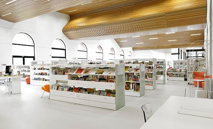 IDM Library - Mediathèque Victor Jara Couëron - Rayonnage