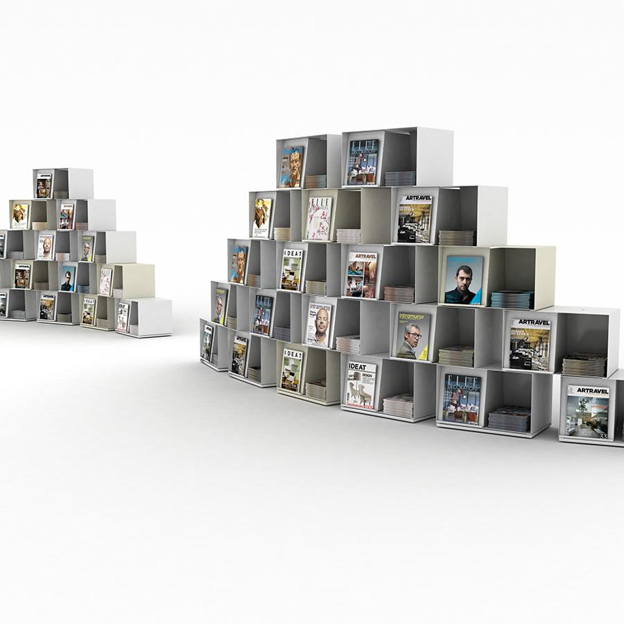 IDM Library - Mediathèque Les Capucins - Wall box
