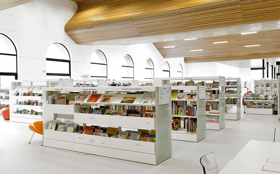 IDM Library - Mediathèque Victor Jara Couëron