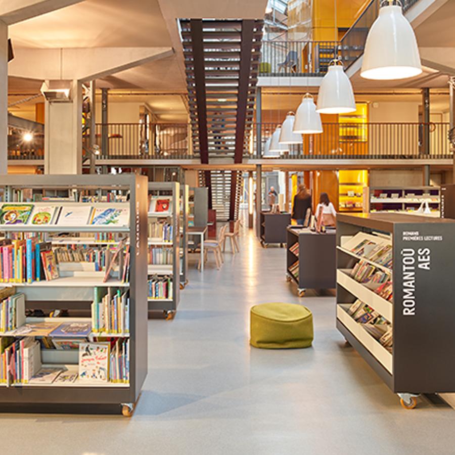 IDM Library - Esprit Mediathèque Brest Les Capucins