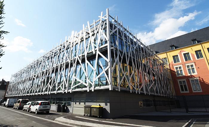 Architecture médiathèque Cambrai