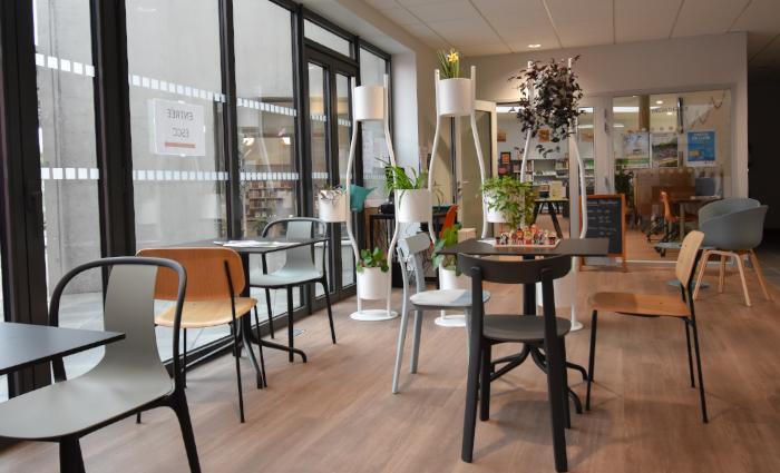 Café citoyen médiathèque Maen Roch